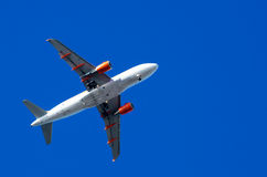 Voo de Avion Foto de Stock Royalty Free