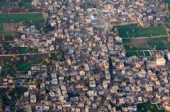 Voo do balão em Luxor, bonito imagens de stock
