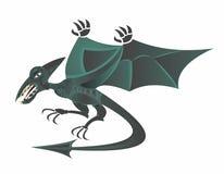 Voo do dinossauro do pterodátilo ilustração stock