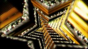 Voo do fundo no túnel da ficção científica rendição 3d Foto de Stock