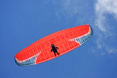 Voo do Paraglider Imagem de Stock Royalty Free