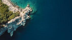 Voo do zangão sob o mar, Turquia vídeos de arquivo