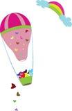 Voo dos balões Fotos de Stock Royalty Free