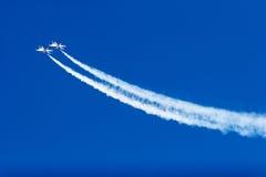 Voo dos Thunderbirds F-16 Imagens de Stock Royalty Free
