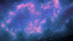 Voo espacial espetacular video estoque
