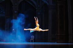 Voo na quebra-nozes do bailado do dreamworld- fotografia de stock