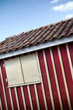 Vooden hut Royalty Free Stock Images