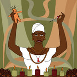 Voodoo. A traditional African beliefs, witchcraft Stock Photo