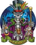 Voodoo character baron samedi, a loa of the dead