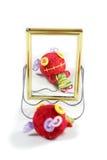 Voodoo doll. Cute voo doo doll handmade Stock Photography