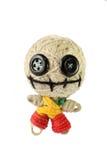 Voodoo doll. Cute voo doo doll handmade Royalty Free Stock Photos