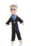 Voodoo doll boy-groom Royalty Free Stock Image