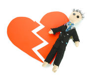 Voodoo doll boy-groom Stock Photo