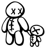 Voodoo Doll Parent Royalty Free Stock Image