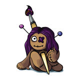 Voodoo doll Royalty Free Stock Photo