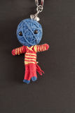Voodoo Doll Keychain Stock Photo