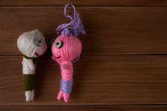 Voodoo Dolls Stock Image