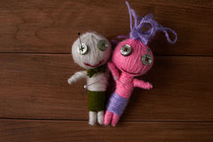 Voodoo Dolls Royalty Free Stock Photo