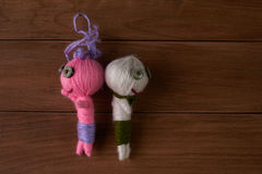 Voodoo Dolls. Royalty Free Stock Images