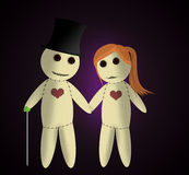Voodoo dolls Royalty Free Stock Image