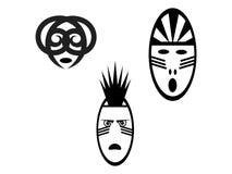 Voodoo la máscara Fotografía de archivo libre de regalías
