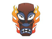 Voodoo mask Royalty Free Stock Photos