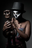 Voodoo priestess Royalty Free Stock Photography