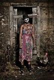 Voodoo priestess Stock Photography