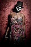 Voodoo priestess Stock Photo