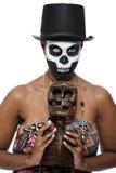 Voodoo priestess Stock Images