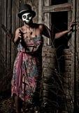 Voodoo priestess Stock Photos