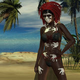 Voodoo priestess Royalty Free Stock Photos