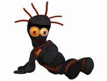 Voodoo-Puppe lizenzfreie abbildung