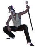 Voodoo shaman Stock Image