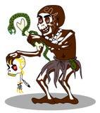 Voodoo shaman vector Royalty Free Stock Image