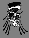 Voodoo Skull Stock Photo