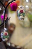 Voodoo Skull. A voodoo skull in New Orleans Stock Photography