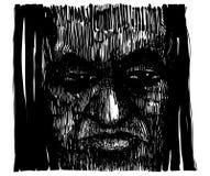 Voodoo Sorcerer royalty free illustration