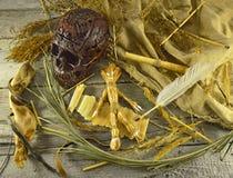 Voodoo still life 2 Stock Images