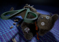 Voodoo Teddy Stock Images