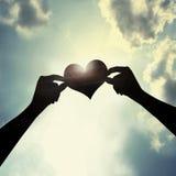 Voor altijd liefde Stock Afbeelding