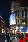 Voor altijd 21 op het Oosten Nanjing Rd in Shanghai stock afbeeldingen