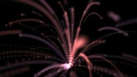 Voor altijd Vuurwerk Abstracte Animatie vector illustratie