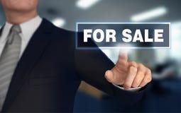 Voor 3d illustratie van het verkoop de duwende concept Stock Foto