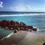 Voor de kust Stock Fotografie