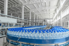 Voor de productie van plastic flessenfabriek Royalty-vrije Stock Foto