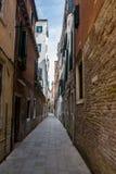 Voor de straat, Venetië, Italië Royalty-vrije Stock Afbeelding