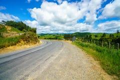 Voor de weg, vergeten wereldweg, Nieuw Zeeland 3 royalty-vrije stock afbeelding