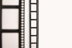 Voor en achterfilm Stock Fotografie