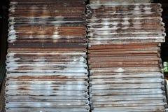 Voor hout dat in bouw wordt gebruikt Stock Foto
